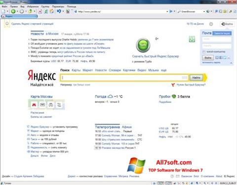 Screenshot GreenBrowser for Windows 7