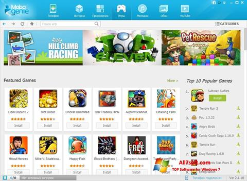 Screenshot Mobogenie for Windows 7