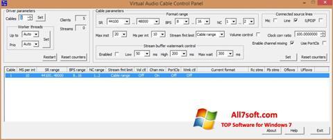 Screenshot Virtual Audio Cable for Windows 7
