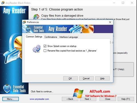 Screenshot AnyReader for Windows 7
