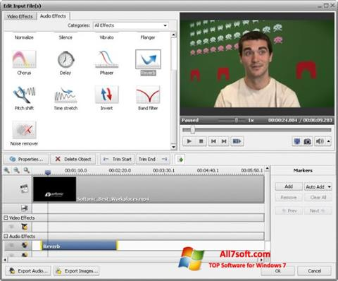 Screenshot AVS Video Converter for Windows 7