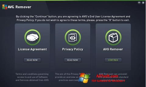 Screenshot AVG Remover for Windows 7