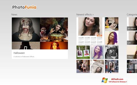 Screenshot PhotoFunia for Windows 7