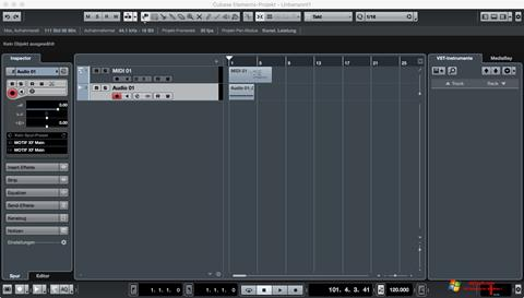 Screenshot Cubase for Windows 7