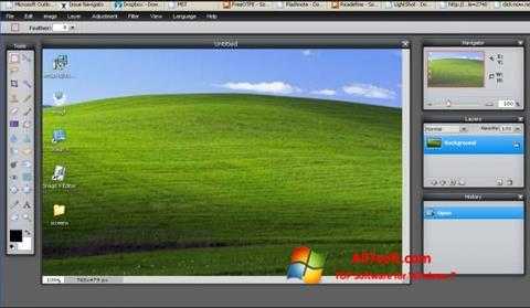 Screenshot LightShot for Windows 7