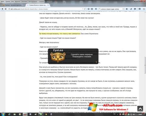Screenshot EyeLeo for Windows 7