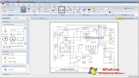 Screenshot SmartDraw for Windows 7