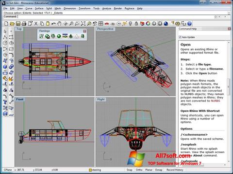 Screenshot Rhinoceros for Windows 7