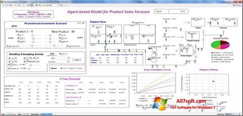Screenshot AnyLogic for Windows 7