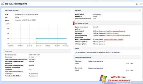 Screenshot Kerio Control for Windows 7