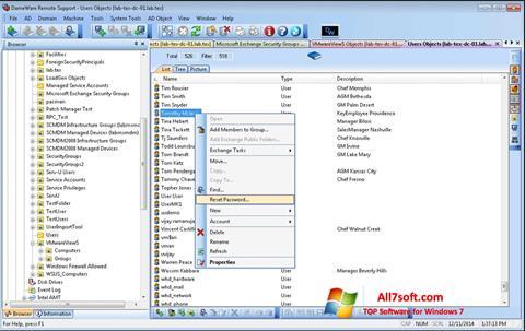 Screenshot Remote Administration Tool for Windows 7