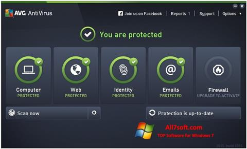 Screenshot AVG AntiVirus Pro for Windows 7