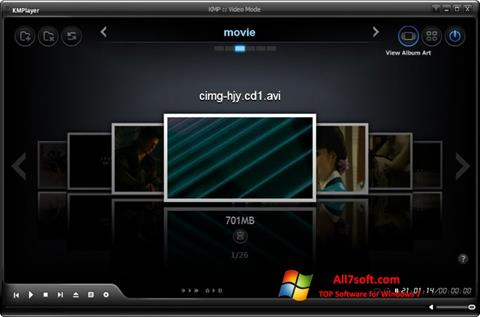 Screenshot KMPlayer for Windows 7