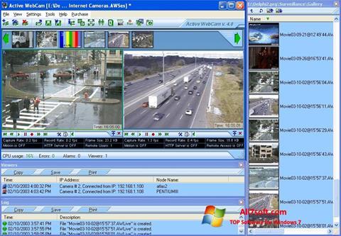 Screenshot Active WebCam for Windows 7