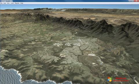 Screenshot NASA World Wind for Windows 7