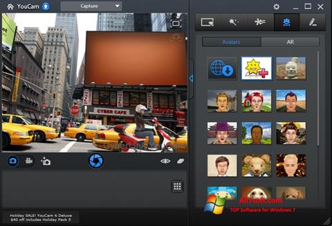Screenshot CyberLink YouCam for Windows 7
